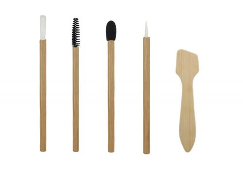 Disposable bamboo Cosmetic Makeup Brush