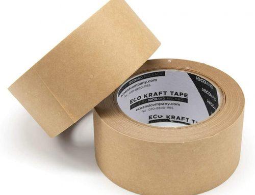 Writable Kraft Flatback Paper Tape